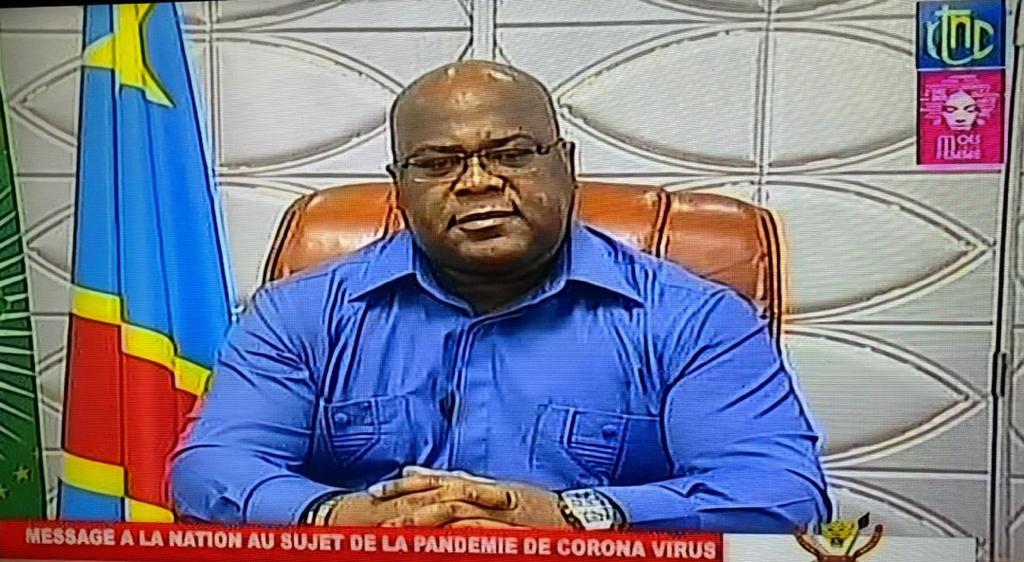 RDC : les 13 mesures prises par Tshisekedi pour stopper la propagation du COVID-19