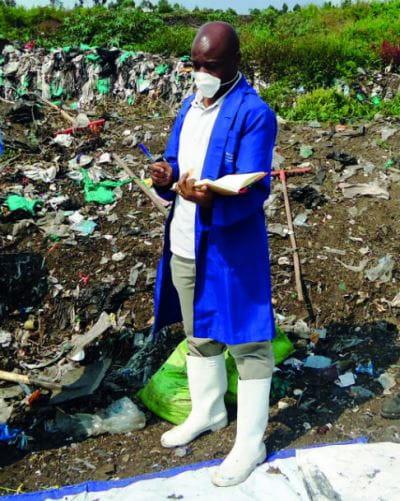 RDC: Joël Tembo Vwira met sur pied la première entreprise de gestion  des déchets de la ville de Goma