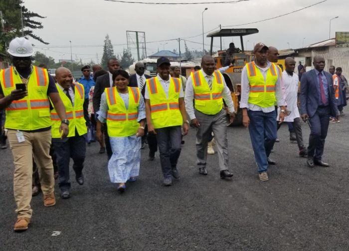 La SOCOC poursuit sans relâche les travaux de voirie à Goma et Bukavu