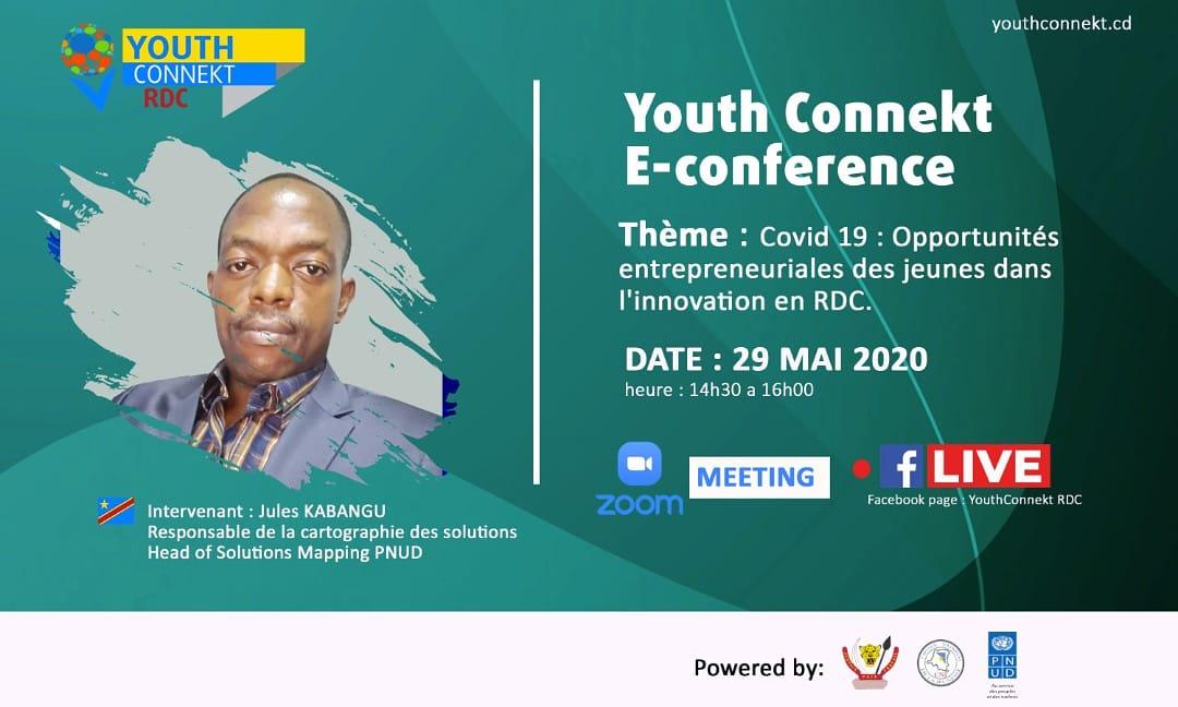RDC : Une conférence des jeunes sur l'entrepreneuriat annoncée sur Zoom meeting ce vendredi