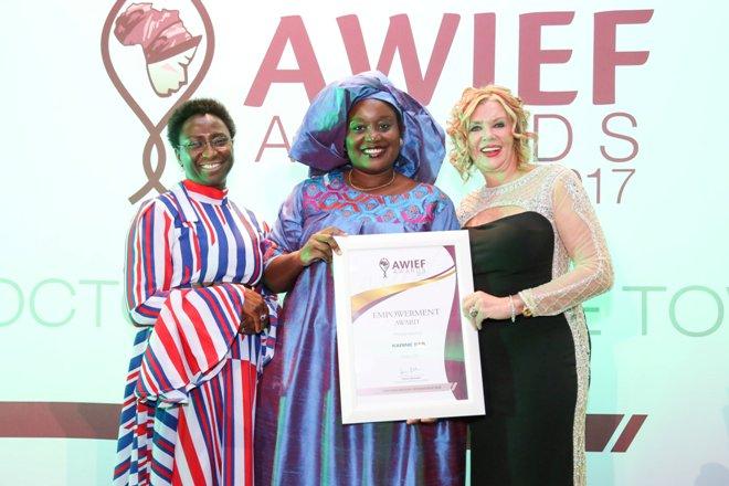 Forum des femmes africaines sur l'innovation et l'entrepreneuriat – AWIEF Awards 2020