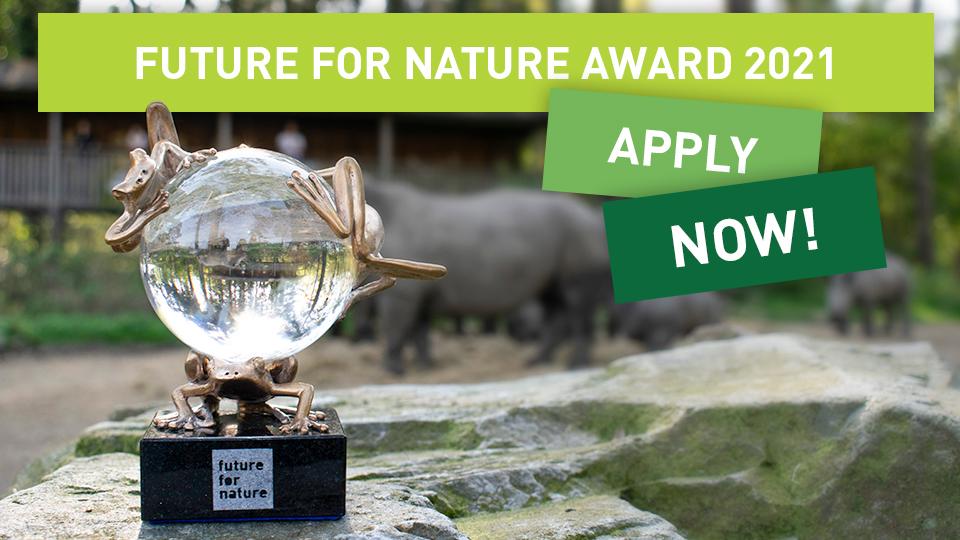 Prix Future For Nature (FFN) 2021 pour les jeunes écologistes de la nature (jusqu'à 50 000 €)