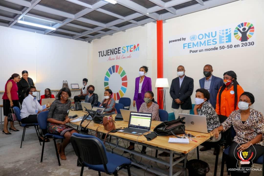 RDC : Jeanine Mabunda favorable à la mise en place d'une loi sur la promotion de l'entrepreneuriat des jeunes