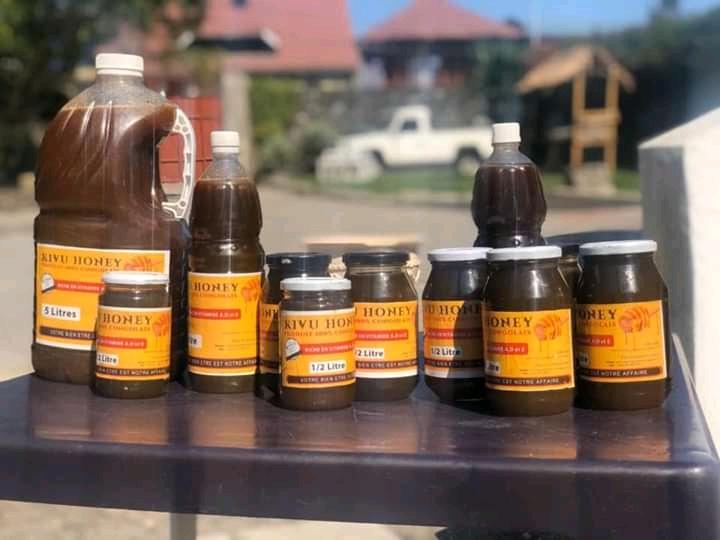 """Goma : Muhire Company Business lance son nouveau produit """"Kivu Honey"""", un miel naturel et pure"""