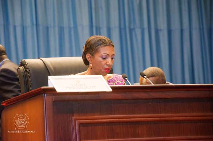 RDC : Jeanine Mabunda appelle les autorités congolaises à soutenir les projets entrepreneuriaux des jeunes
