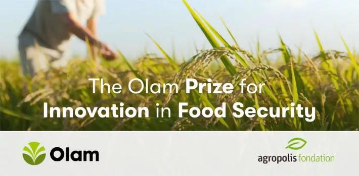 Prix Olam pour l'innovation dans la sécurité alimentaire 2021 (75 000 $ US)