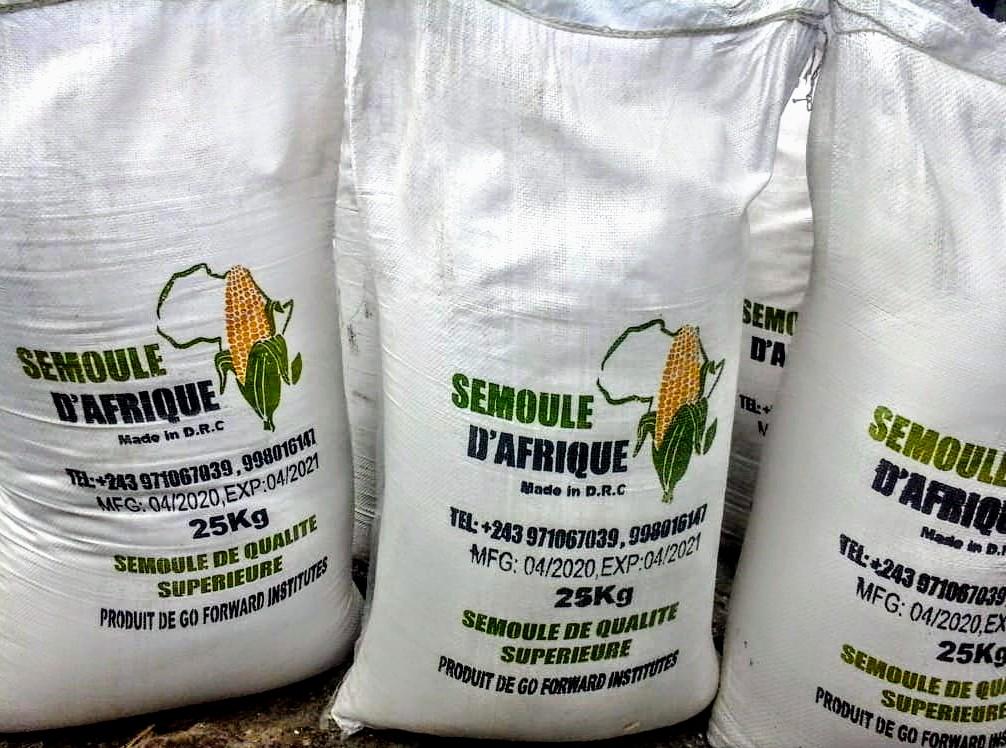 Goma : La crise de covid-19 n'empêche pas à la société Go Forward Institute de mettre sur le marché la Semoule d'Afrique (Constat)