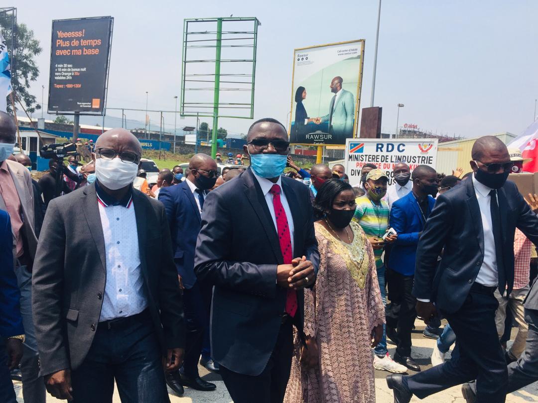 RDC : Les ministres de l'industrie et des PME à Goma pour le lancement des activités de promotion de l'entrepreneuriat et de la classe moyenne