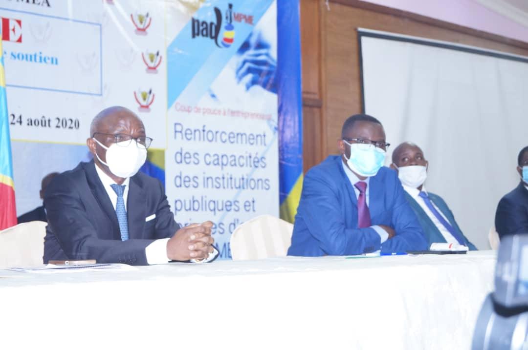 Nord-Kivu : Le projet d'appui au développement des micros, petites et moyennes entreprises lancé à Goma